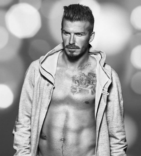 David-Beckham corps tonique