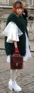london fashion week asian