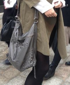 london fashion week asian girl sac
