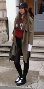 london fashion week asian girls