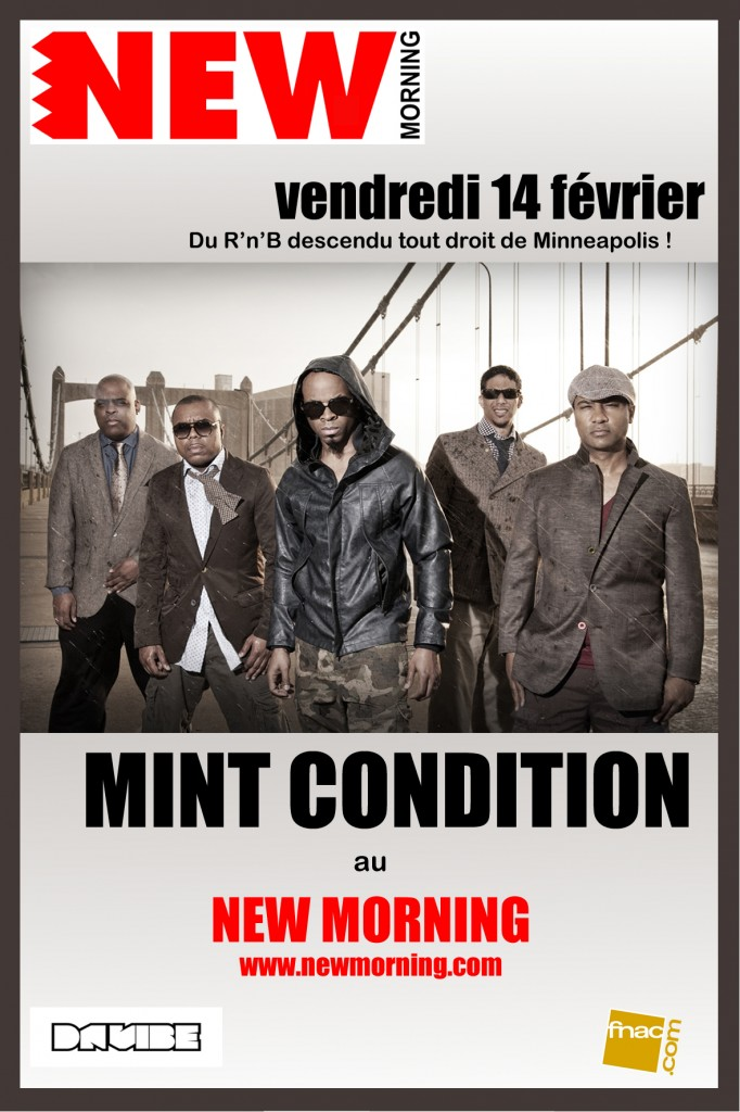 Mint Condition flyer