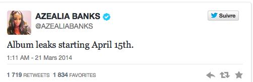 A.Banks leaks da vibe