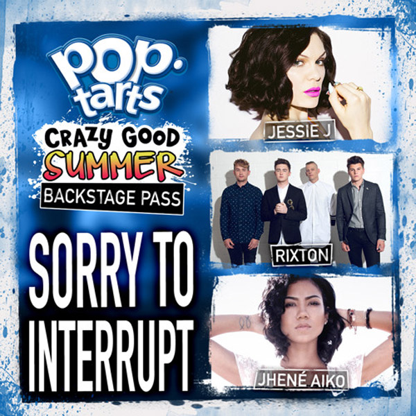 JESSIE J x JHENÉ AIKO, & RIXTON – SORRY TO INTERRUPT | AUDIO
