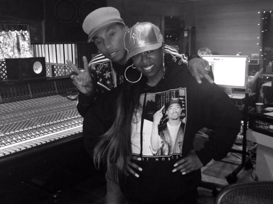 pharrell-williams-Missy studio insta da vibe