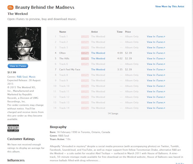 the-weeknd-itunes