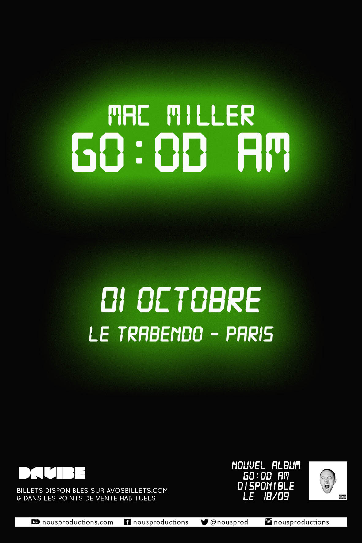 MAC MILLER PARIS OCT