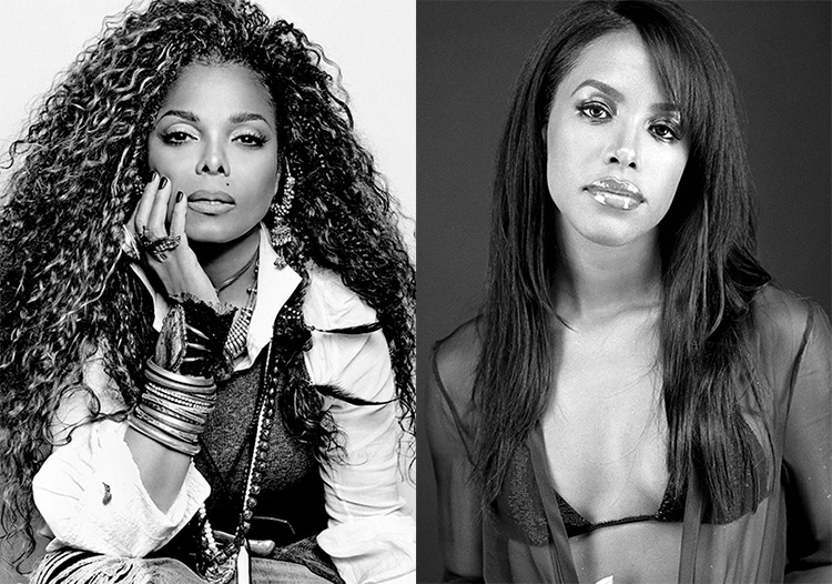 JANET JACKSON ECRIT UNE LETTRE A AALIYAH