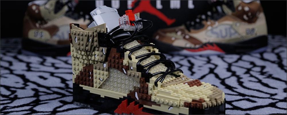 AIR JORDAN 5 SUPREME FAITE DE LEGOS