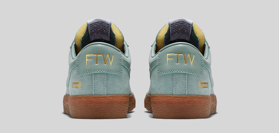 100% authentic 26e5b f17f7 ... Nike SB Blazer Low GT Supreme Cannon Heel