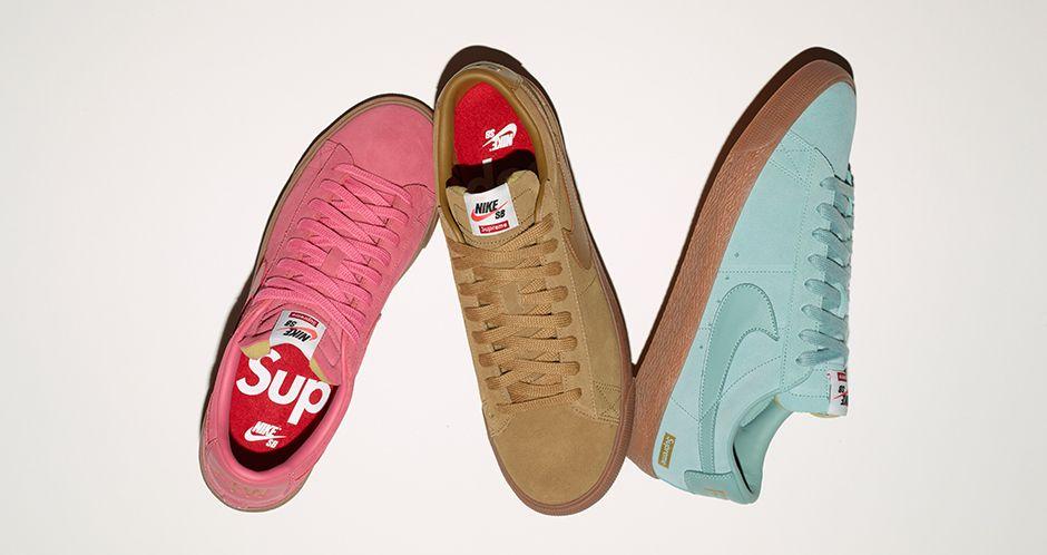 chaussure nike x supreme