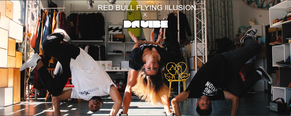 ZOOM SUR LE RED BULL FLYING ILLUSION