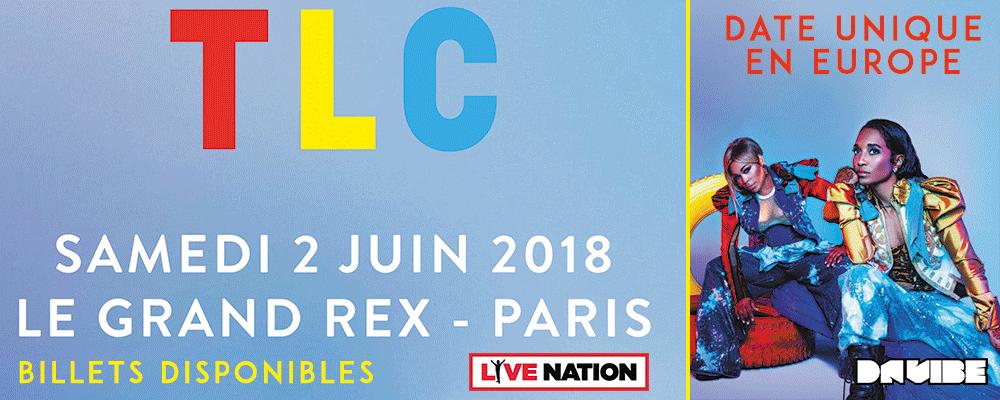 TLC EN CONCERT SAMEDI 02 JUIN A PARIS, GRAND REX